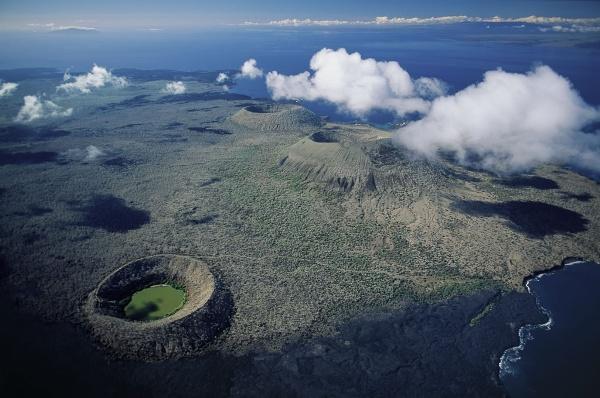 Volcanes de Galápagos. Foto de Archivo, La República.