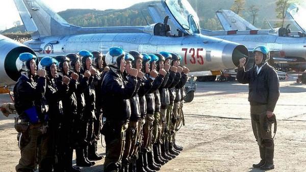Vuelos militares Norcorea