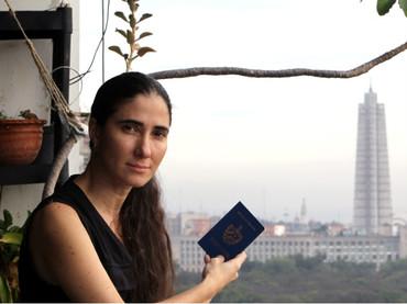 Yoani Sánchez, una de las principales periodistas cubanas, fundadora del diario digital 14ymedio. Foto de Archivo, La República.