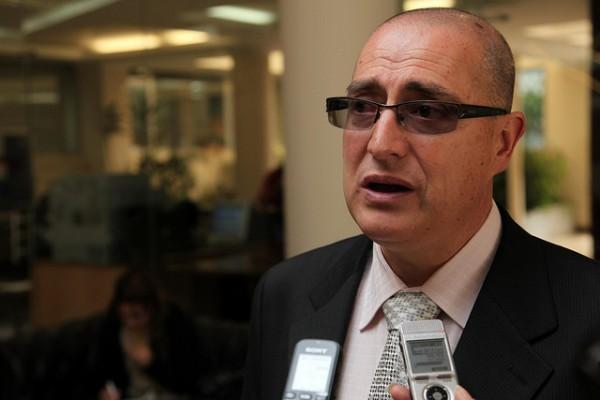 Marco Albuja. Foto de archivo