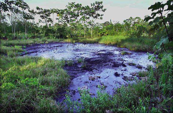 Daños ambientales causados por Chevron. Foto de Archivo, La República.