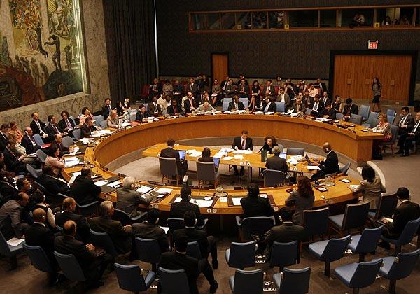 Consejo de Seguridad de la ONU. Foto de Archivo, La República.
