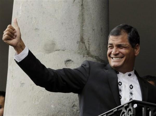 Rafael Correa, Hamad bin Khalifa al-Thani
