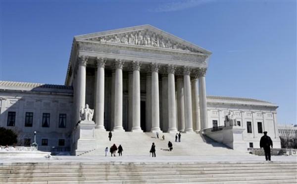 En esta fotografía del 5 de marzo de 2009, se ve el edificio de la Corte Suprema de Estados Unidos en Washington. (Foto AP/J. Scott Applewhite/Archivo)