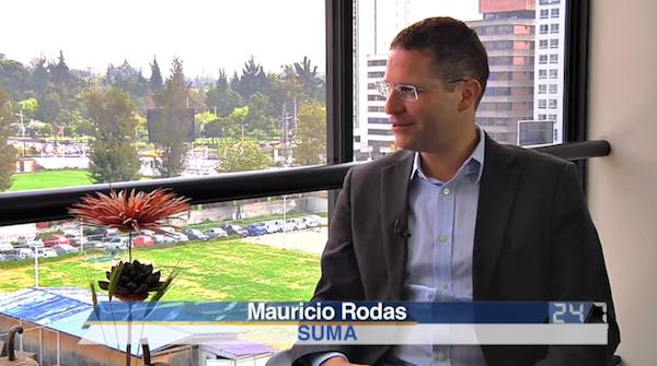 Mauricio Rodas, alcalde de Quito. Foto, La República.