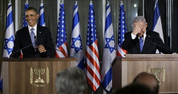 Netanyahu y Obama. Foto de Archivo, La República/EFE.