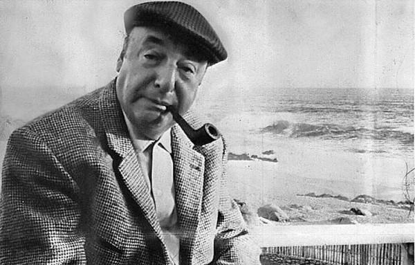 Pablo Neruda. Foto de Archivo, La República.