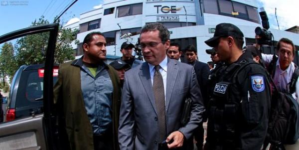 QUITO 11 DE MARZO 2013. Tribunal contencioso Electoral falla a en contra del Pastor Zabala. FOTOS API / JUAN CEVALLOS.