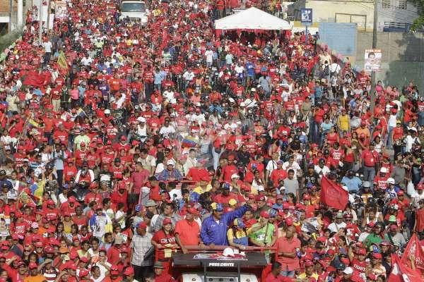 Cierre de camapaña Maduro