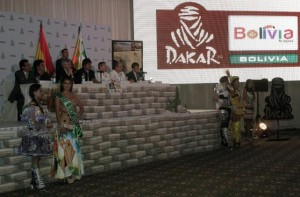 La presentación oficial del Evento que contó con la presencia de Evo Morales