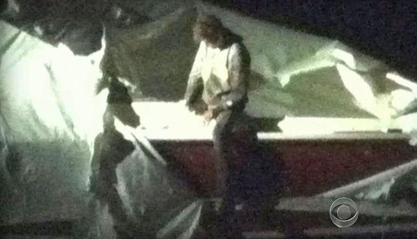 Dzhokhar Tsarnaev se entrega ante la policia de Boston