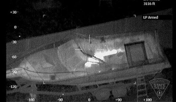 El sospechoso Dzhokhar Tsarnaev ya estaba totalmente acorralado por la policía de Boston