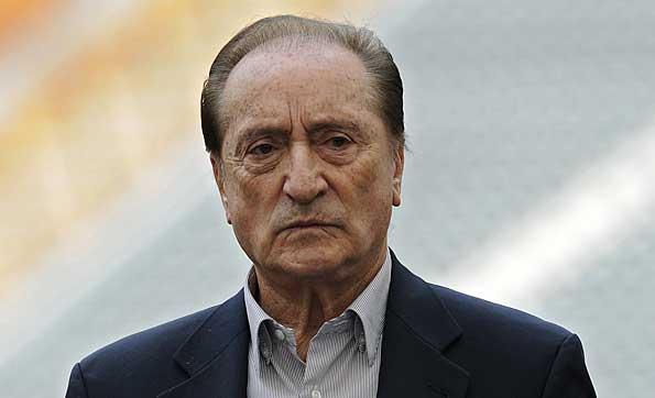 Foto de archivo. Eugenio Figueredo, dirigente deportivo uruguayo. Foto AP.