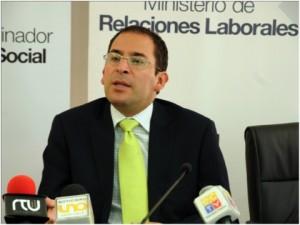 El Ministro Francisco Vacas