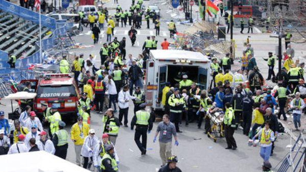 Heridos en Boston