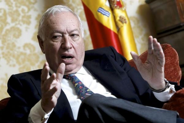 José Manuel García-Margallo, Canciller de España. EFE