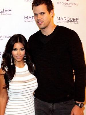 Kim Kardashian y su ex Kris Humphries