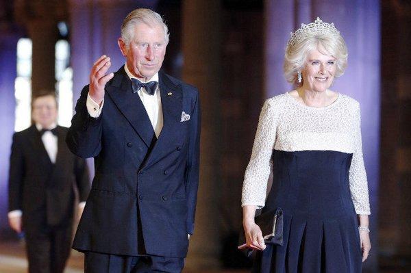 El príncipe Carlos de Inglaterra y su esposa Camila, duquesa de Cornualles.