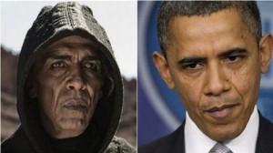 Mehdi Ouazanni y Barack Obama