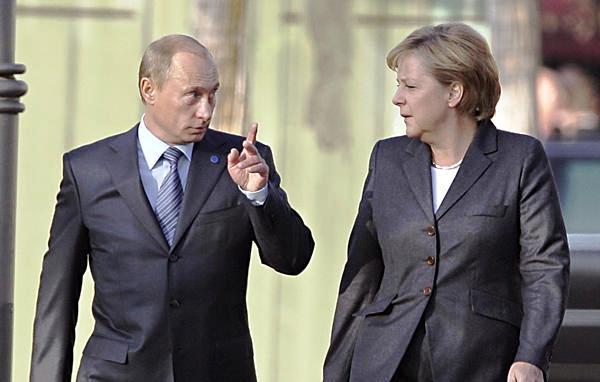 Merkel Putin