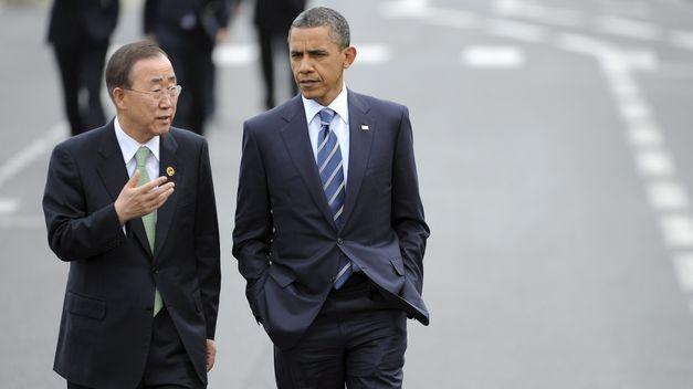 Obama y ban