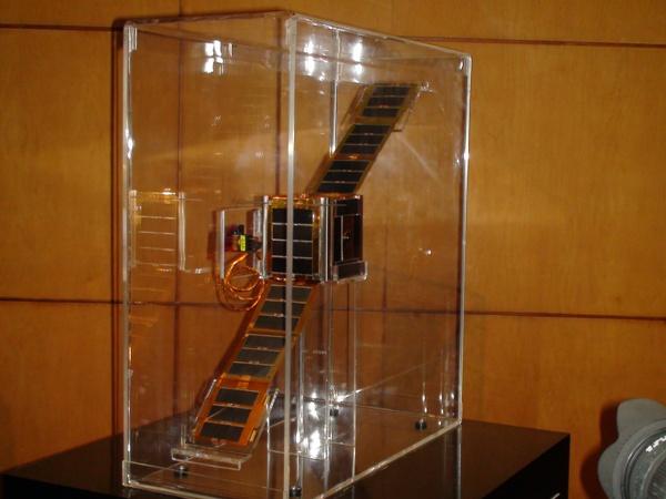 El NEE-01 PEGASO el primer satélite ecuatoriano creado en el 2010 por la EXA y presentado el 4 de Abril de 2011