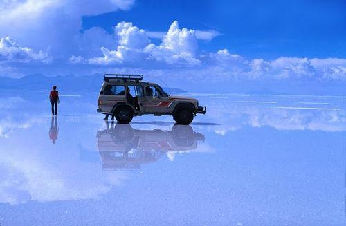 El salar de Uyuni es el mayor desierto de sal continuo del mundo