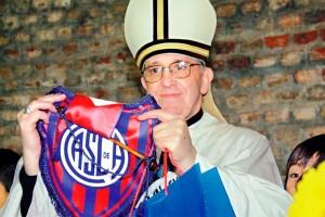 El Papa es el hincha más importante del San Lorenzo.