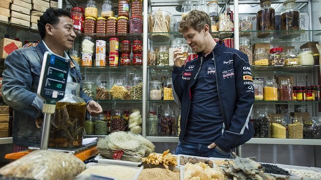 Vettel en China