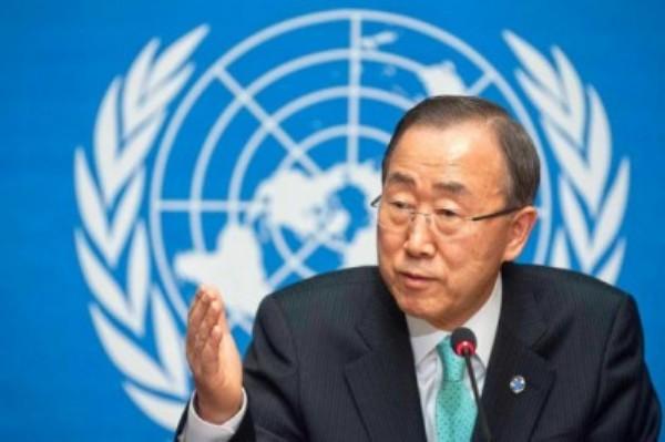 Ban Ki-moon, Secretario General de las Naciones Unidas. Foto de Archivo.