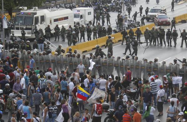 caracas protestas muertes