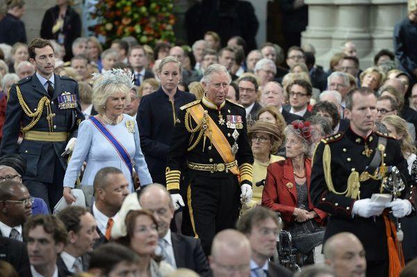 El príncipe Carlos, de Inglaterra, y su esposa Camila.