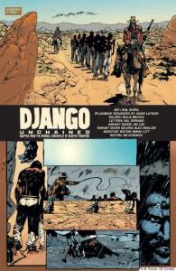 El comic de Django va a ser publicado por DC Comics.