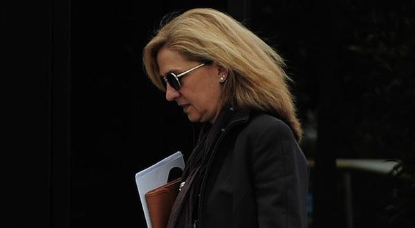 Cristina de Borbón. Foto: EFE/Archivo