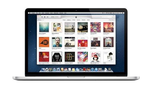 La página de iTunes en una imagen sin fecha proporcionada por iTunes. La tienda musical digital cumplirá el domingo 28 de abril de 2013 una década de haber cambiado la forma en la que consumimos música y accedemos al entretenimiento. (Foto AP/iTunes)