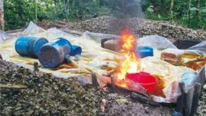 Más de 300 kilos de droga fueron incinerados