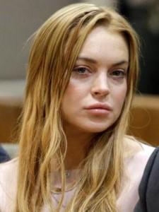 Lindsay Lohan fue sentenciada a rehabilitación.