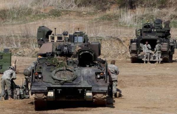 militares en corea