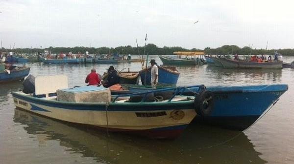 Pesca artesanal. Foto de archivo