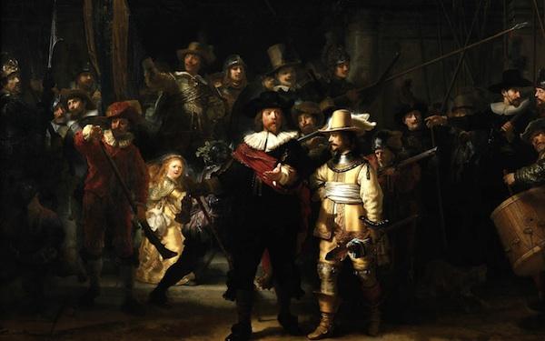 Rembrandt The Night Watch, 1641 42, Amsterdam , Rijksmuseum