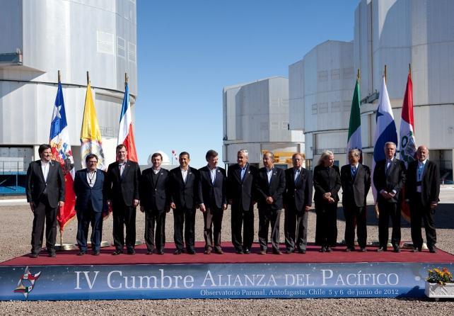 Cumbre de la Alianza del Pacífico. Foto de Archivo, La República.
