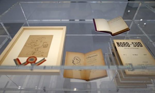 Dibujos de Pablo Picasso y Jean Cocteau. Dalí y su esposa, Gala, vivieron cuatro meses durante 1938 en la casa de la diseñadora Gabrielle Chanel. (AP)