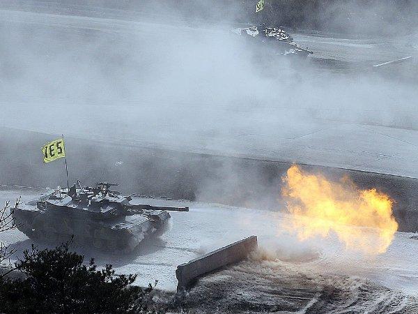 Corea del Norte, tanques