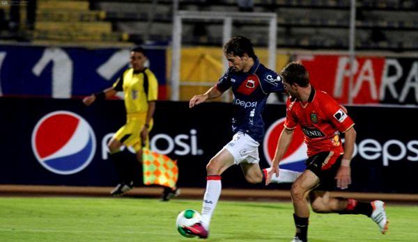 QUITO 10 DE MARZO DE 2013, En el estadio Atahualpa Dep. Quito recibe al Dep. Cuenca APIFOTO/JAVIER CAZAR