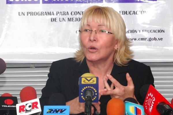 Fiscal de Venezuela, Luisa Ortega.