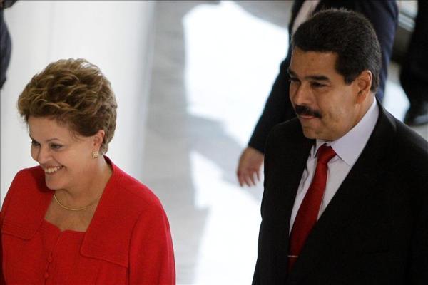 Maduro y Dilma 1