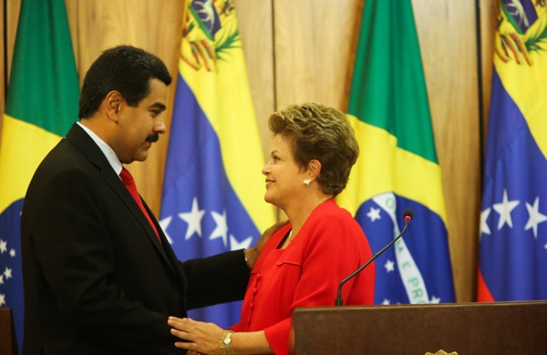 Maduro y Dilma