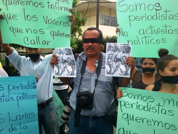 Nicaragua protestas prensa