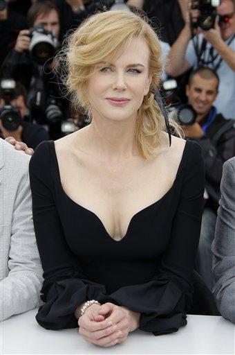 La integrante del jurado Nicole Kidman durante una sesión de fotos para la 66ª edición del Festival de Cine de Cannes, en Francia el miércoles 15 de mayo de 2013. (Foto AP/ Francois Mori)