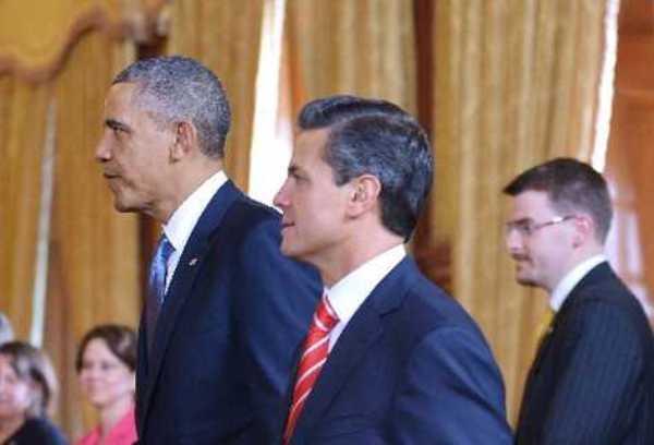 Barack Obama y Enrique Peña Nieto. Foto de Archivo, La República.